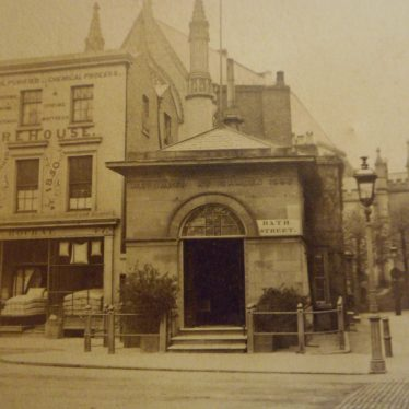 The Well House taken in the 1860s. | Warwickshire County Record Office reference PH652/1/4