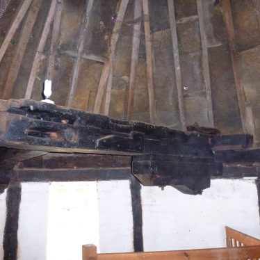 One of a pair of support beams in Kineton Windmill | Ron Thorpe