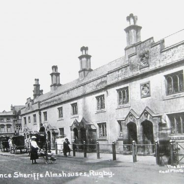 Lawrence Sheriff Almshouses in Rugby
