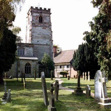 Knowle Parish Church from the north, 1982 | Elaine Warner. From Knowle Local History Society Image Library