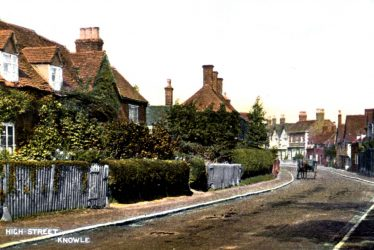 The Old Parsonage at Knowle