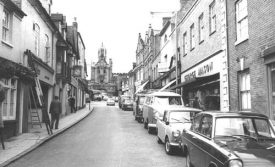 George Mason's on Smith Street Warwick 1960s | Warwickshire County Record Office reference PH 599/878. Part of the Francis Frith collection.