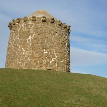 A stone built tower   Ron Thorpe