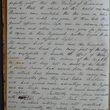 Augusta'a account, page 2. | Warwickshire County Record Office reference CR2900/35