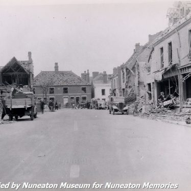 Nuneaton Bombed