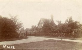 Postcard of Great Alne Lodge, 1900s. | Warwickshire County Record Office reference PH 352/4/26