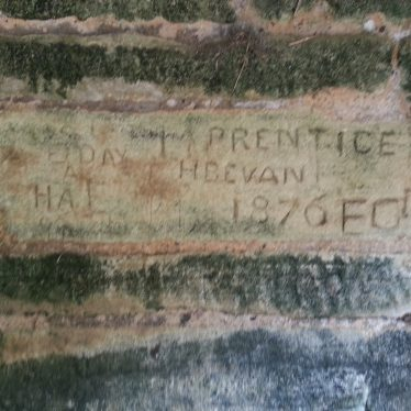 Graffiti at Lyveden New Bield. A genuine date, or elaborate deception? | Photo by Benjamin Earl
