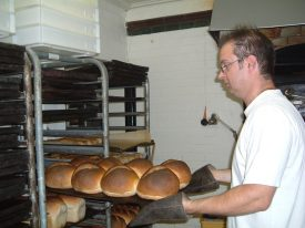 David Pails in the bakers. | Image supplied by Doris Pails.