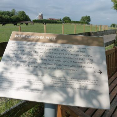 Napton on the Hill WWII Observer Post