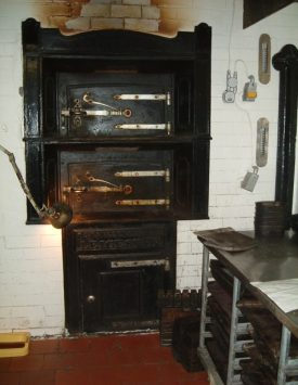 The oven within the bakery. | Image supplied by Doris Pails