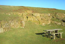 Jurassic ironstone at Burton Dassett Hills Country Park | Warwickshire Museum