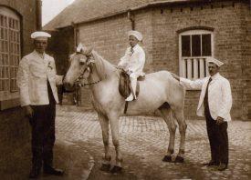 Tom ? (Baker), Alf (b.1900), Frederick Pails (Uncle). | Image supplied by Doris Pails.