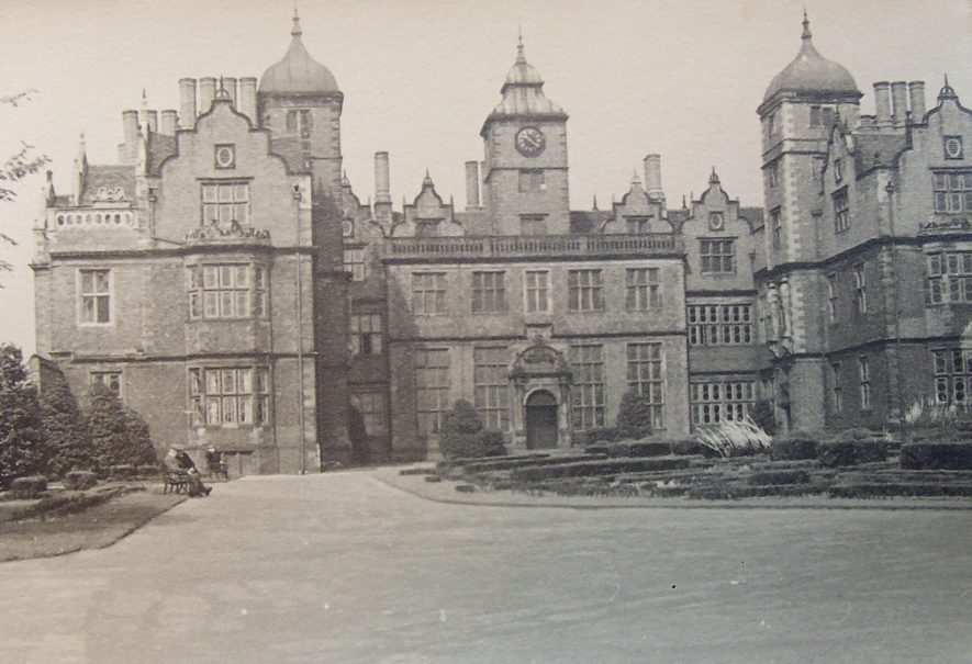 Aston Hall, 1930s. | Warwickshire County Record Office reference PH793/24