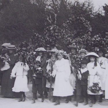 May Day Celebrations in Brailes, 1906