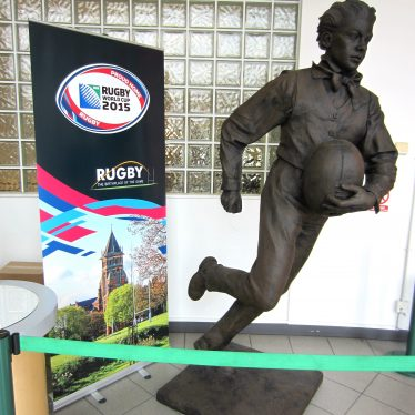 Rugby World Cup Celebrated Locally