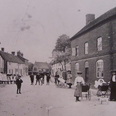 Then and Now: Chapel Street, Harbury