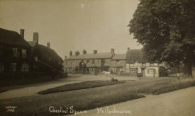 Chestnut Square. Ironically 'The Red House' is probably off shot. The Chestnur is to the right of the picture. | Warwickshire County Record Office reference PH350/2523