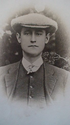 Robert Tallis.   Image supplied by Vince Taylor.