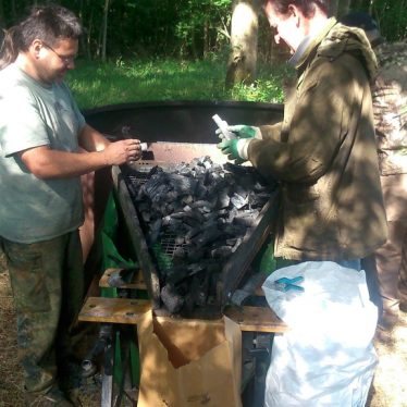 Charcoal making course | WWT