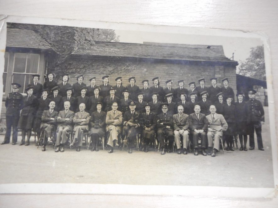 The WRNS at Thornley's Brewery. A group of mixed gender in three rows. | Photo courtesy of Richard Neale.