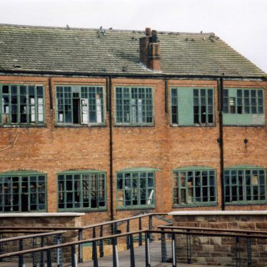 Former Silk Ribbon-Weaving Factory in Coventry