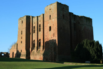 Kenilworth Castle Keep, after which Caesar Road was named.