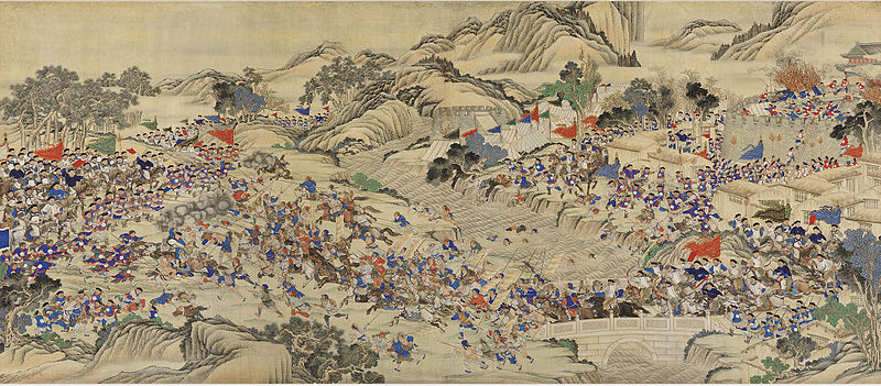 Regaining the Provincial Capital of Ruizhou. | Wu Youru. Originally uploaded to Wikipedia.