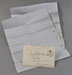 An Adkins letter | Warwickshire County Record Office reference CR3554/16