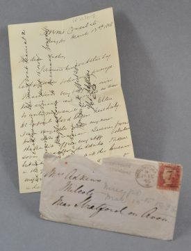 An Adkins letter. | Warwickshire County Record Office reference CR3554/18