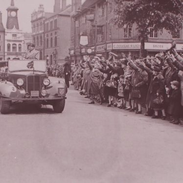 Nuneaton Welcomes Field Marshal Viscount Montgomery