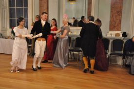 Things could get quite energetic - we would have struggled to dance every dance! | Photograph by Fran Godwin, Unlocking Warwick