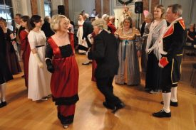 The ball attracted guests of all sorts and a merry old time was had by all! | Photograph by Fran Godwin, Unlocking Warwick