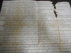 18th century copy of Sir Francis Nethersole's orders for the conduct of the school at Polesworth | Warwickshire County Record Office, DR(B) 16/240/1