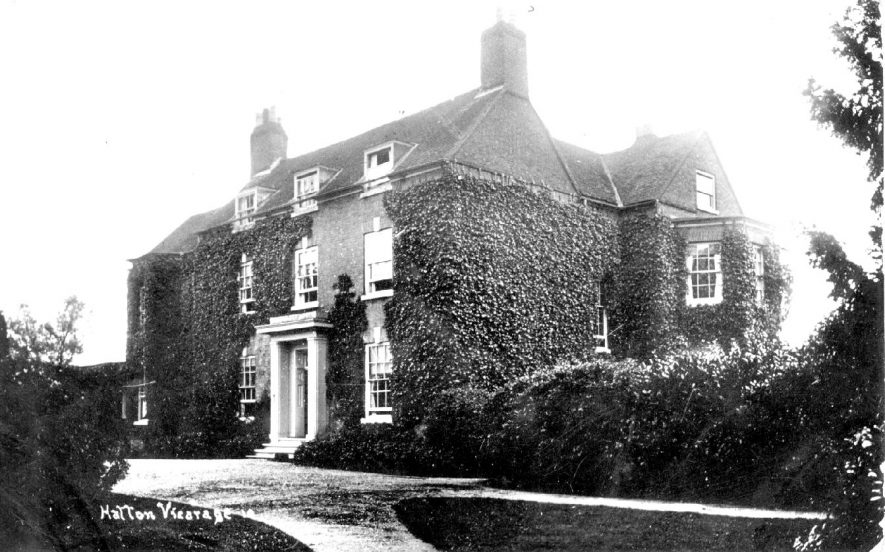 The vicarage at Hatton, 1920s. | Warwickshire County Record Office reference PH350/947