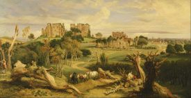 Painting of Kenilworth Castle in 1840 | Painting by james Ward, and originally uploaded to Wikimedia Commons