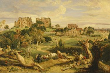 Kenilworth Castle Jigsaw Puzzle (100 Pieces)