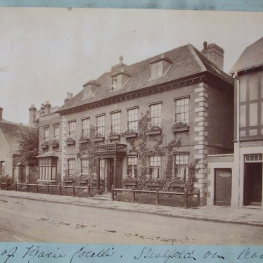 Mason's Croft, Maria Corelli's House in Stratford on Avon circa 1900 | Warwickshire County Record Office reference PH533