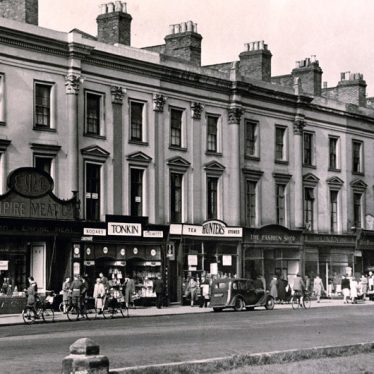 Victoria Terrace in 1947. | Image courtesy of Leamington Spa Art Gallery & Museum (Warwick District Council).