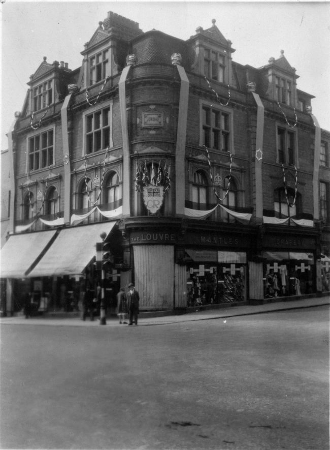 Woodwards in 1935. | Image courtesy of Leamington Spa Art Gallery & Museum (Warwick District Council).