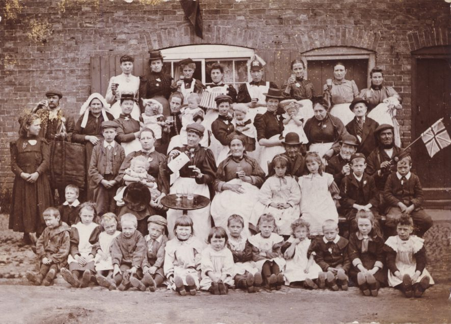 Street Party in Warwick c1902 | Personal  Collection