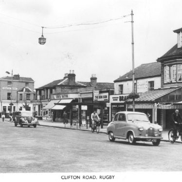 Rugby. Images of Clifton Road