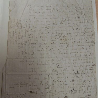 Young Cromwell's Notably Presumptious Letter to his Superior