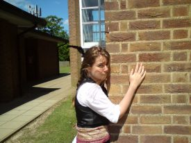 Don't make us leave! A poor pirate beweeps her outcast state... | Image courtesy of Becky Hemsley