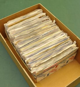 The Adkins letter collection. | Warwickshire County Record Office reference CR3554