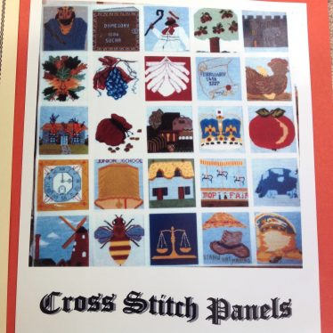 Cross stitch. | Image supplied by Val Steele