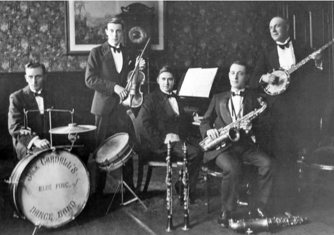 Jack Cardall's Dance Band. | Image courtesy of the Southam Heritage Collection