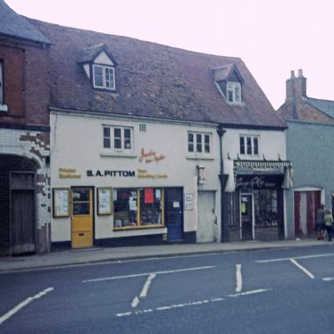 Pittoms the Printers on High Street | Image courtesy of Southam Heritage Collection