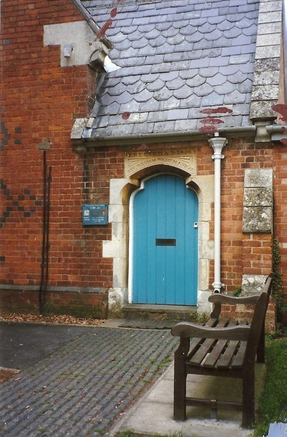 Wight School in the 1980s | Image courtesy of Nigel Chapman