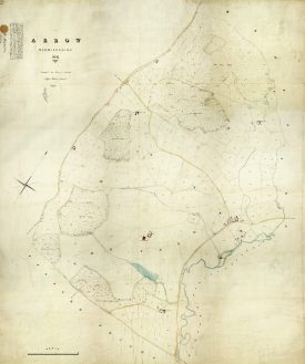 Arrow tithe map | Warwickshire County Record Office, CR 569/9