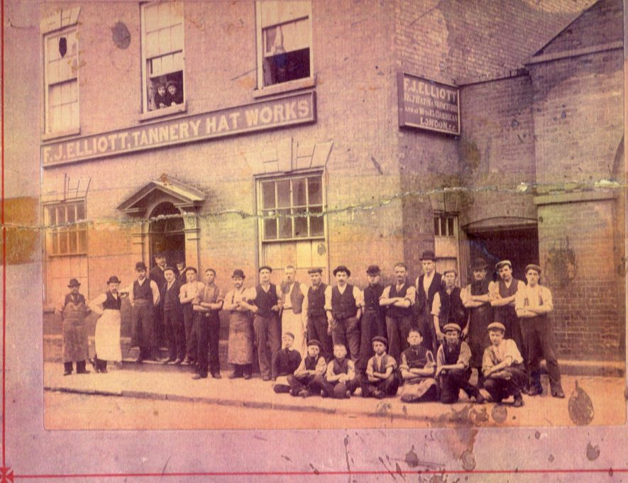 Tannery Hat Factor c.1920s. C45 on the Atherstone House History project. | Image courtesy of The Friends of Atherstone Heritage, Marion Alexander.